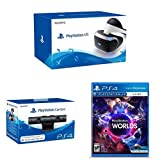 Sony PlayStation VR (PS4)  + Sony - Cámara (PS4) + PlayStation VR Worlds