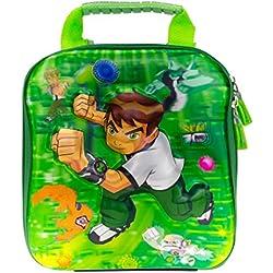 Genious Green 3D Ben Ten Design Children's Travel & School Bag