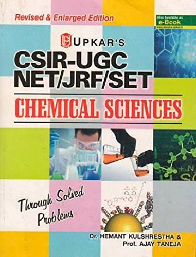CSIR-UGC NET/JRF/SET Chemical Sciences  available at amazon for Rs.490