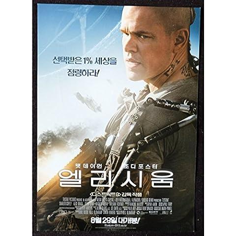 Elysium coreana Herald 7x 10–2013–Eclipse blomkamp, Matt Damon