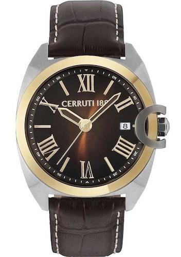 Cerruti 1881 CRA183STG12BR Montre à bracelet pour homme