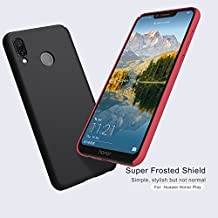 Nillkin Super Frosted Shield Hard Back Cover for Honor Play (Black)