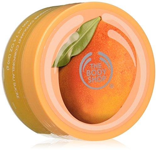 Il unisex Body Shop Body Scrub Mango, Mango Scrub corpo 200 ml, 1-pack (1 x 200 ml)