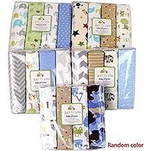Aiming 4pcs / Set para bebés de algodón Manta de recepción recién Nacido Bedsheet Swaddler Infantil