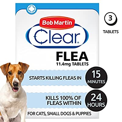 Bob Martin Clear Flea Tablets for Small Dogs and Puppies from Bob Martin