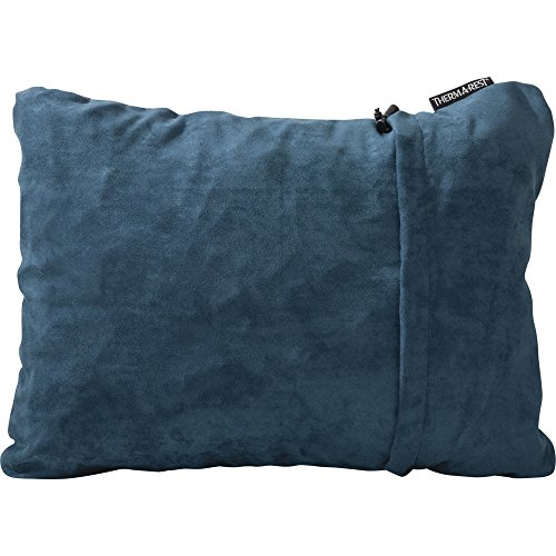 Therm-a-Rest Camping Kopfkissen Komprimierbar , Denim , M Brushed Denim