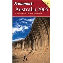 Frommer's Australia 2005