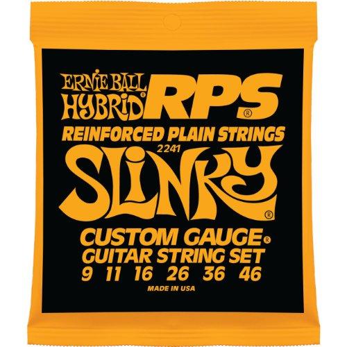 Ernie Ball Hybrid Slinky RPS Nickel Wunde E-Gitarre Saiten - 9-46 Gauge Usa-hybrid