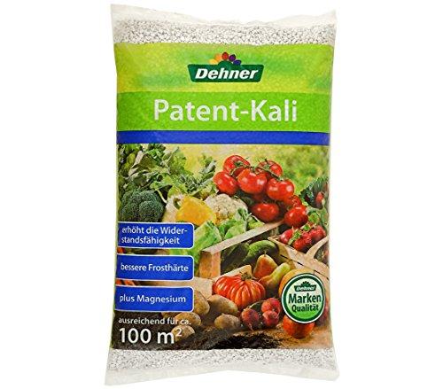 Dehner Patentkali, Spezialdünger für Obst, Gemüse und Zierpflanzen, 10 kg, für ca. 100 qm (Kali)
