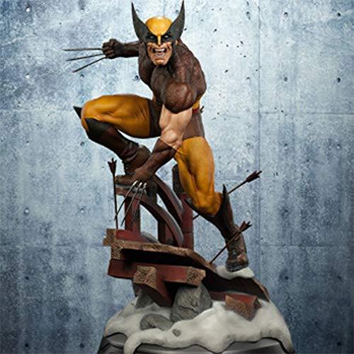 COOL MODEL X-Men Hero Series Statue Modèle Maison Wolverine Creative Décoration pour Bureau Salon