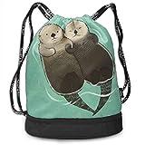 FIYOBQ Sport Sporttasche Drawstring Backpack Bag Sport Gym Sackpack - 33726744_497 Multipurpose for...