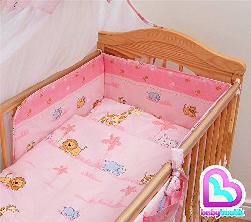 5 Piece Baby Children Bedding Se...