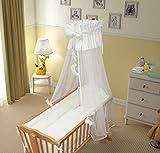 Parure de lit 90x 40cm pour enfant 9pièces  Convient aux berceaux à bascule