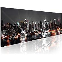 murando Cuadro en Lienzo 135x45cm ! Impresion en calidad fotografica - Cuadro en lienzo tejido-no tejido New York NY Ciudad City 030211-52 135x45 cm