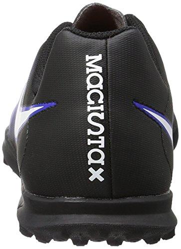 Nike 844416-016, Scarpe da Calcetto Bambino Blu (Black/white/paramount Blue/hyper Orange)