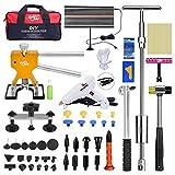 PDR Auto dent Abzieher Kit Auto Dellenlifter Ausbeulwerkzeug Pops A Dent Ding Dent Entferner Riola Reparatur-Set (20Stück, LED Line Board)