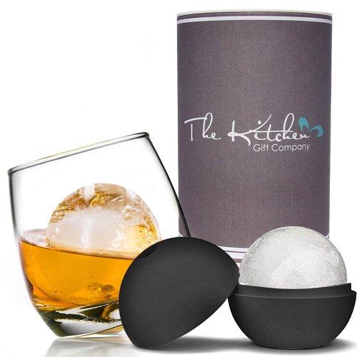 Juego de vaso de whisky balancín y bola de hielo Mega