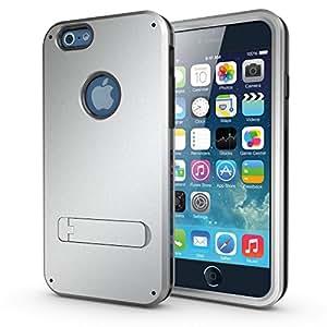 Coque iPhone 6 / 6s Antichoc Intégrale - Armor Defender 3 - Gris Acier