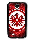 Samsung Galaxy S4 Mini Olivedes® Handyhülle, Eintracht Frankfurt Handy Schutzhülle [ FC ] Football Team Logo Männer (Herren) FußBall Sport Handy Case Eintracht Frankfurt Case Tasche / Cover für Galaxy S4 Mini