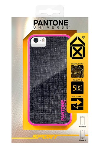 Pantone Universe Clip-On Schutzhülle Case für iPhone 5 - 19-1762 Crimson Denim Pink