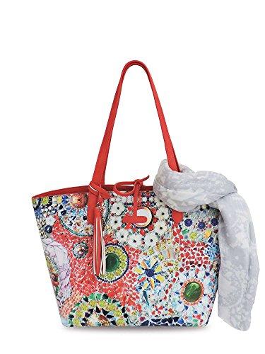 PASH BAG BORSA + PASHMINA MOD PARIS ART 5127 DIAMOND FEELS Multicolore