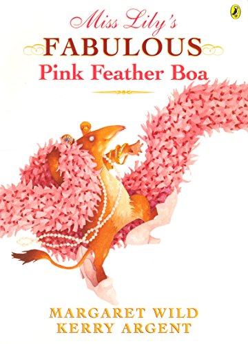Miss Lily's Fabulous Pink Feather Boa (Feather Boa Red)