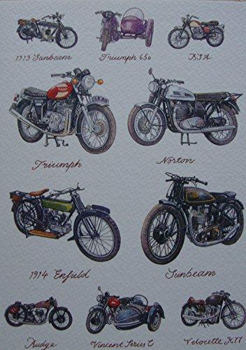 great-british-fahrrader-grusskarte-triumph-650-bsa-1913-sunbeam-norton-1914-enfieldcity-in-connectic