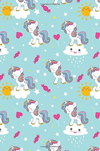 (Journal: Kawaii unicorns | 150 Wide Ruled Pages  | 6 x 9 size | Writing notebook (Girls, Band 1))