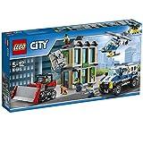 LEGO City 60140 - Polizei Bankraub mit Planierraupe