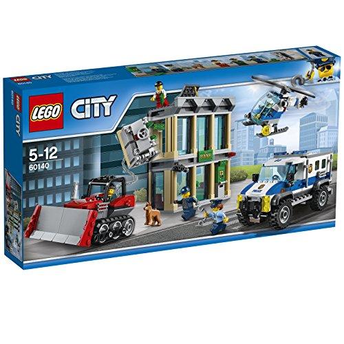 Preisvergleich Produktbild LEGO City 60140 - Bankraub mit Planierraupe, Bauspielzeug