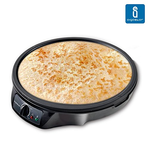 Aigostar-Moabit-30CES-Mquina-para-hacer-crepes-tortitas-tortillas-con-1000W-Antiadherente-Garanta-de-calidad