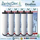 5x Pack Franke Triflow kompatibel Filter Patronen, indem Doulton M15Ultracarb (kein Import Pflicht oder Steuern zu Zahlen auf dieses Produkt)