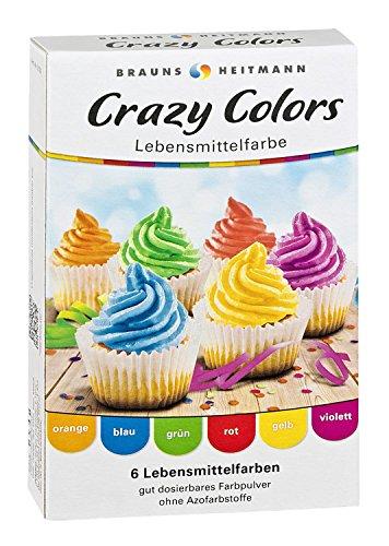 Brauns Heitmann Crazy Colors Farbpulver (8 x 4g Special Edition)
