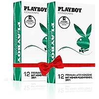 PLAYBOY CONDOMS 3in1 (2 x 12 Kondome) preisvergleich bei billige-tabletten.eu