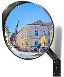 Premium Specchio Convesso, Ø30cm spechietto traffico - specchio di sicurezza perfetto per garage - consente agli utenti della strada di vedere meglio i punti ciechi