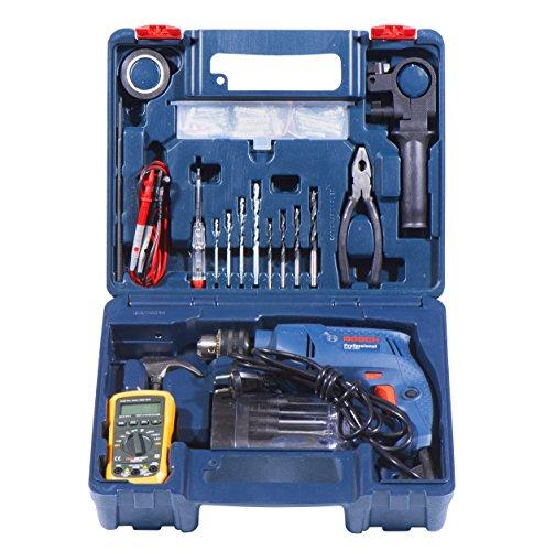 Bosch-Electrician-Kit-GSB-550-Watt-Impact-Drill-Kit-Blue-77-Pieces