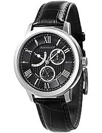 Thomas Earnshaw Cornwall ES-8060-01 Men's Black Genuine Leather Watch