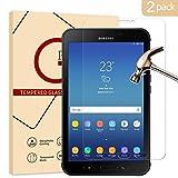 [2-Stück] Samsung Galaxy Tab Active 2 Panzerglas Schutzfolie, KATIAN 2.5D Panzerfolie 9H Gehärtetem Glass HD Displayschutzfolie für Samsung Galaxy Tab Active 2