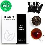 Teabox Assam, tè nero, 40 g, 16 bustine TeaPacs | Sigillato all'origine, prodotto in India