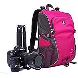 yuhan Kamera Rucksack Tasche Reise Rucksack Tasche für DSLR/SLR Canon, Nikon, Sony, Panasonic, ...