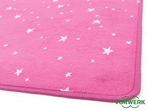 Vorwerk Kinderteppich Bijou Stars pink