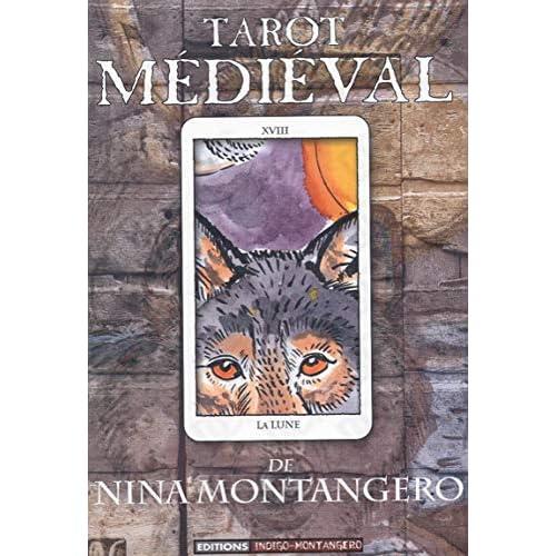 Tarot médiéval (1 livre + 1 jeu de 79 lames)