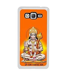 Fuson Sri Hanuman Designer Back Case Cover for Samsung Galaxy Grand Max G720 (Hanuman Anjaneya Bajrangbali Chanchaladwala Chaturbahave)