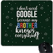 YaYa Cafe™ Birthday Gifts for Brother Mousepad Google Brother Printed Rakhi