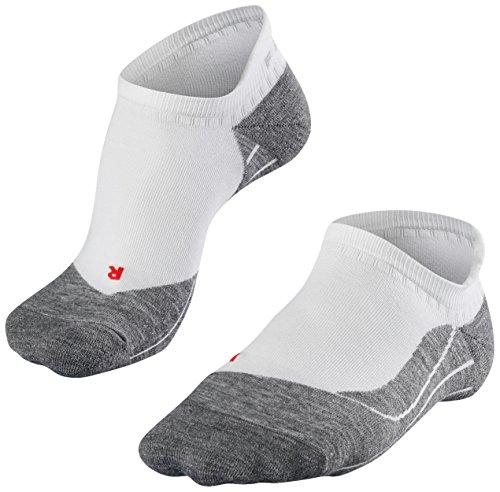 falke sneaker socken herren FALKE Herren Füsslinge / kurze Laufsocken RU4 Invisible - 1 Paar, Gr. 44-45, weiss, feuchtigkeitsregulierend, Sportsocken Running