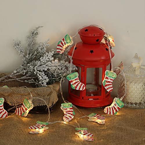 Weihnachten Socke String Licht IP55 Wasserdicht Batteriebetriebene 1,5 mt / 2 mt / 3 mt Nachtlicht für Indoor Home Baby Room Weihnachtsferien ()