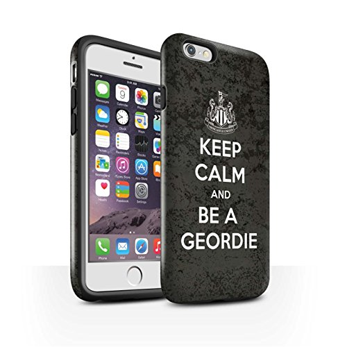 Offiziell Newcastle United FC Hülle / Glanz Harten Stoßfest Case für Apple iPhone 6 / Pack 7pcs Muster / NUFC Keep Calm Kollektion Geordie