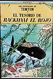 POSTAL- FLYER TARJETA PUBLICIDAD LAS AVENTURAS DE TINTIN: EL TESORO DE RACKHAM EL ROJO