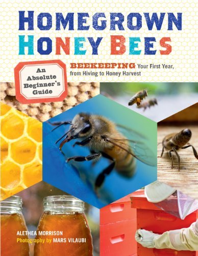 Homegrown Honey Bees: An Absolute Beginner's Guide to Beekeeping Your First Year, from Hiving to Honey Harvest by Alethea Morrison (2013-01-29)