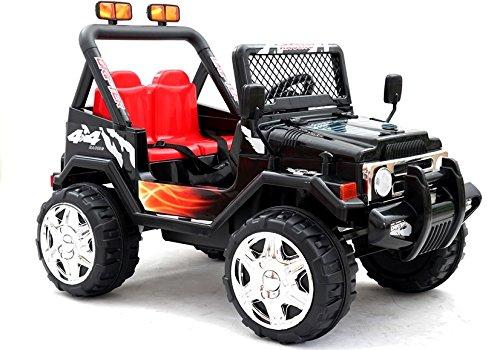 elektrisches kinderfahrzeug BSD Elektro Kinderauto Elektrisch Ride On Kinderfahrzeug Elektroauto Fernbedienung - S618 Eva - Schwarz